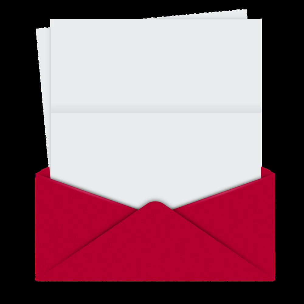 ¿Te gusta recibir cartas en el correo?