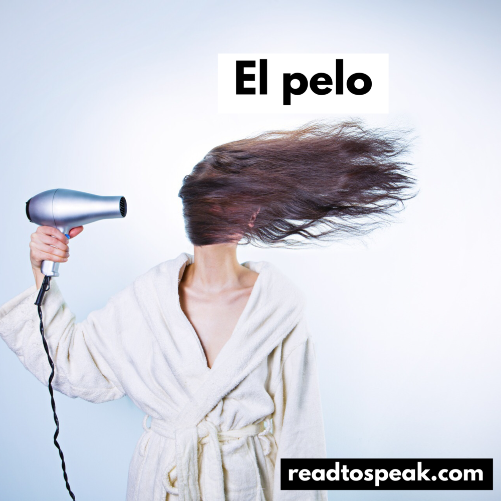 Read to Speak Spanish - el pelo.PNG