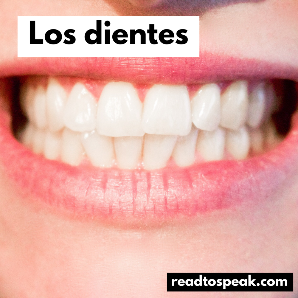 Read to Speak Spanish - los dientes.PNG