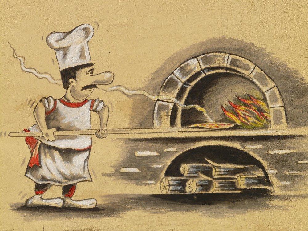 Para lograr la mejor pizza se necesita un horno de leña.