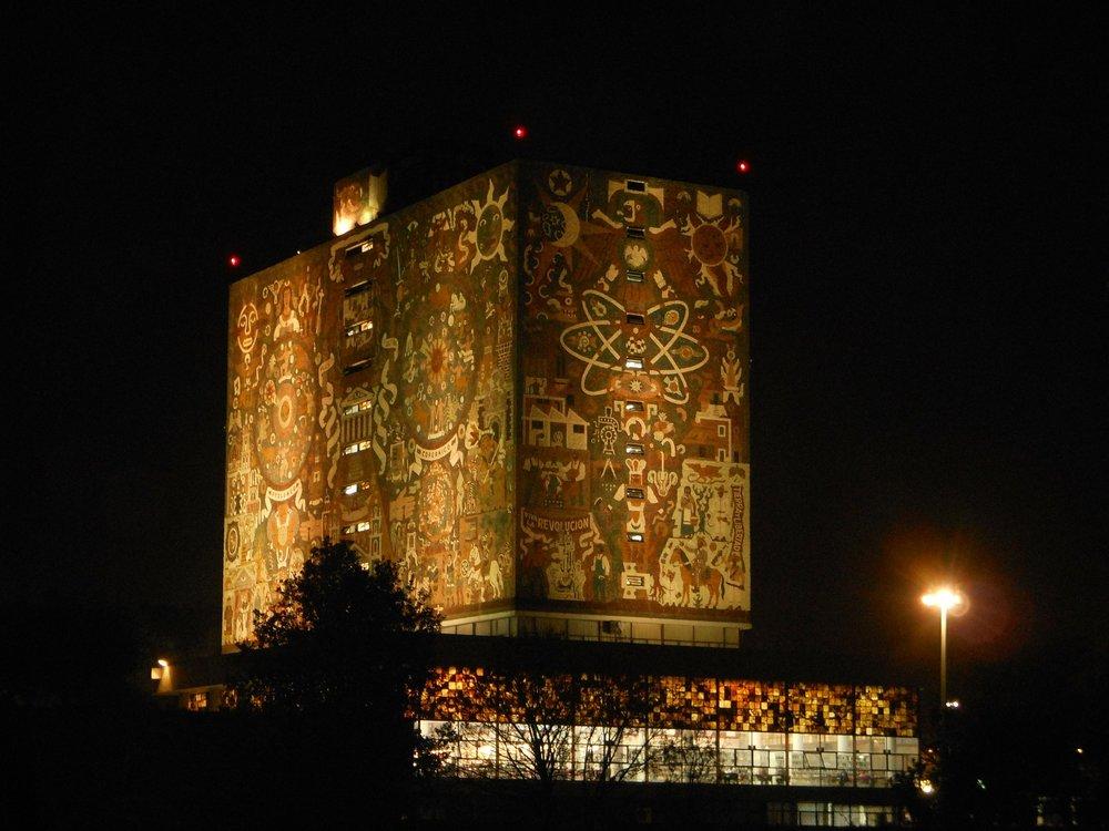 La biblioteca de la UNAM - La Universidad Nacional Autónoma de México