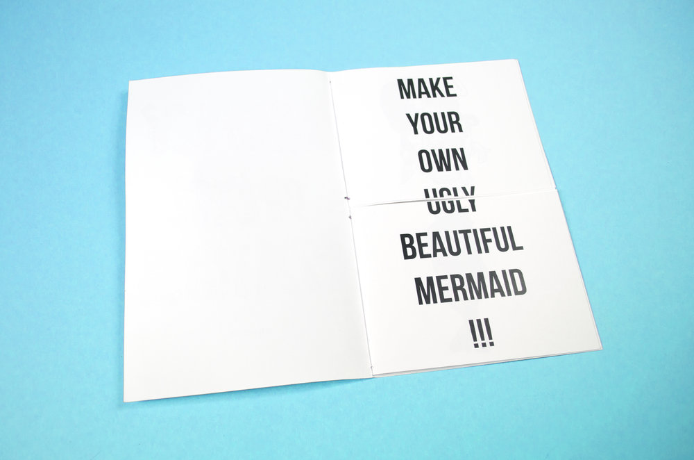 Ugly Mermaids zine by Baily Crawford