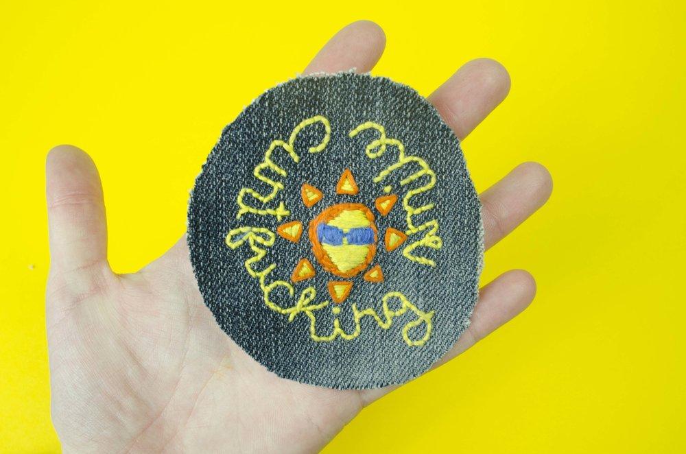 Sassy Sun Patch by Julie Finn