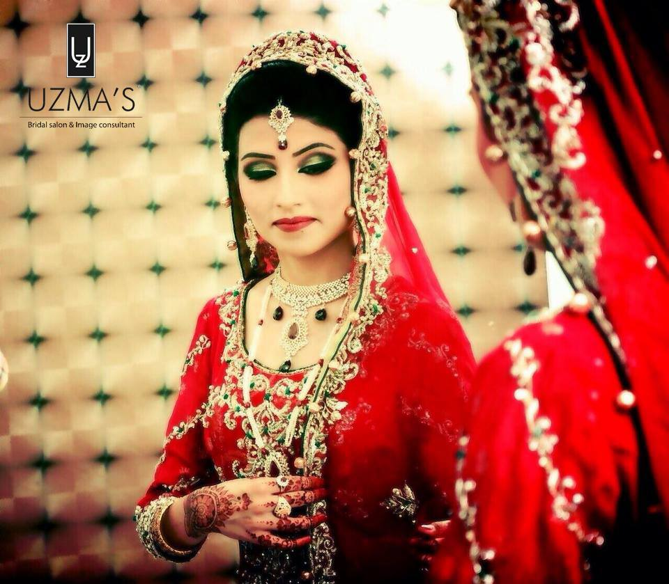 Beautiful-and-Pretty-Bridal-Makeup-by-Uzmas-Bridal-Salon-2013-2.jpg