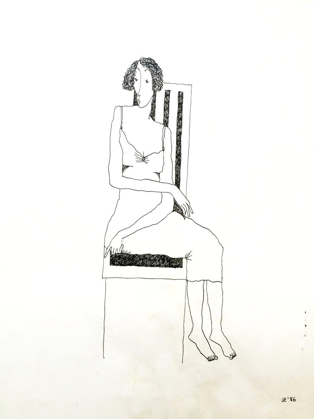 Shy Woman, 1986