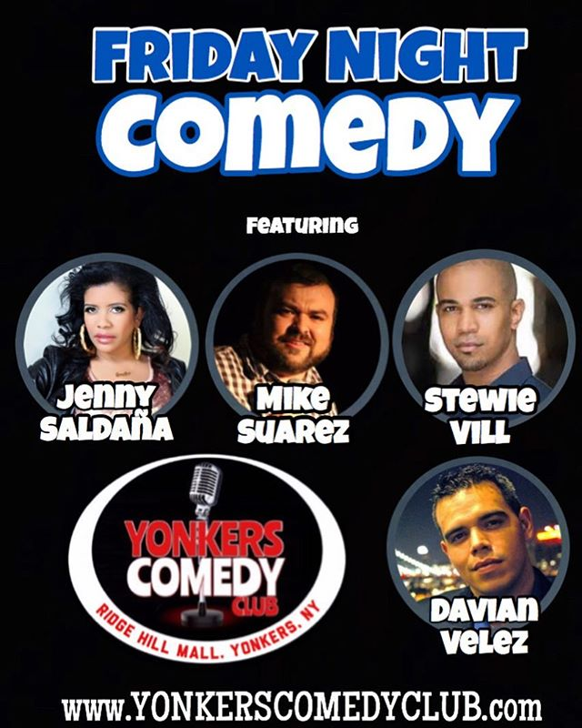 Tonight at @yonkerscomedyclub, 7:30 and 9:45!