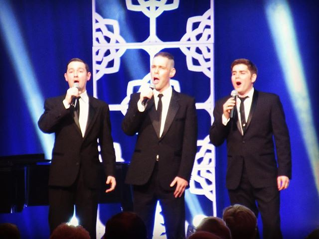 We are so excited to return to sing for the Palm Springs Opera Guild of the Desert's 50th Anniversary Gala next month! Here we are singing for them in 2016 for their Valentine's Day Gala! #voxsings #manband #palmsprings #palmspringsoperaguild #verdi #goldanniversary