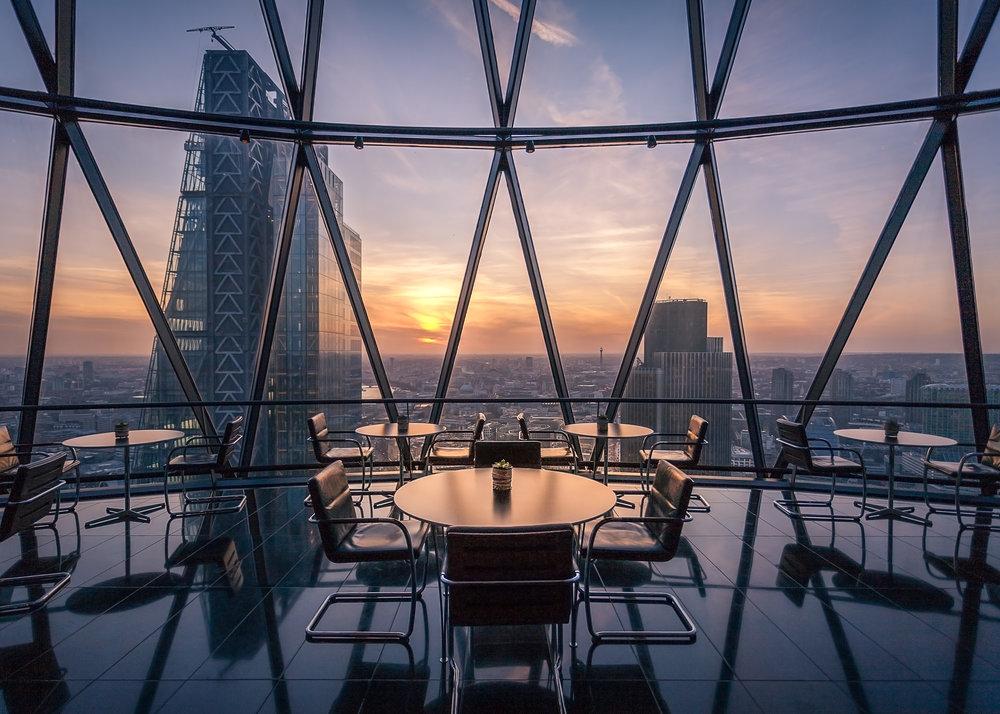 Bar and restaurant photographer, London