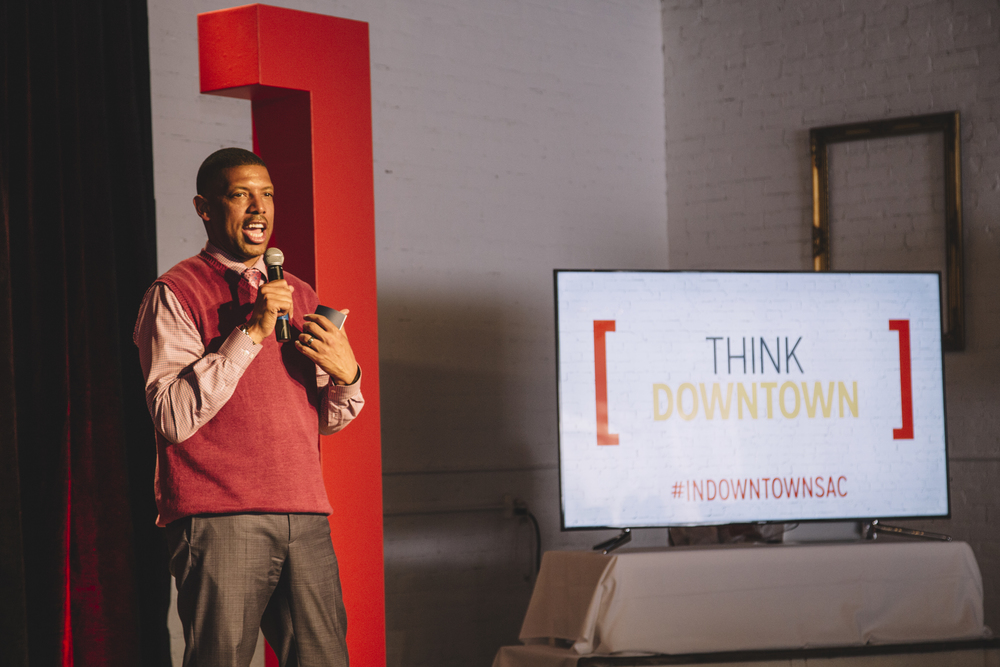 Think Downtown with Mayor Kevin Johnson | Studio 817 | Sacramento Event Space Venue Rental