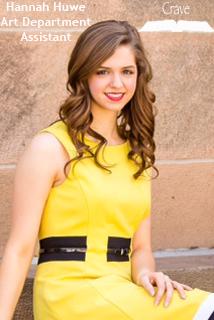 Hannah Huwe - Art Assistant