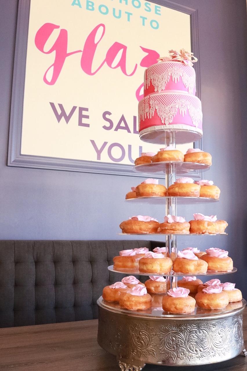Bon Glaze Donut tower 2.JPG