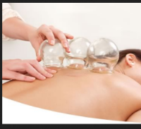 Cupping Therapy:    $35 Per Body Area   Cupping therapy is an effective treatment for soft tissue injuries, promoting healing by enhancing blood flow.  The suction of the cups mobilizes blood flow to promote the healing of a broad range of medical ailments.