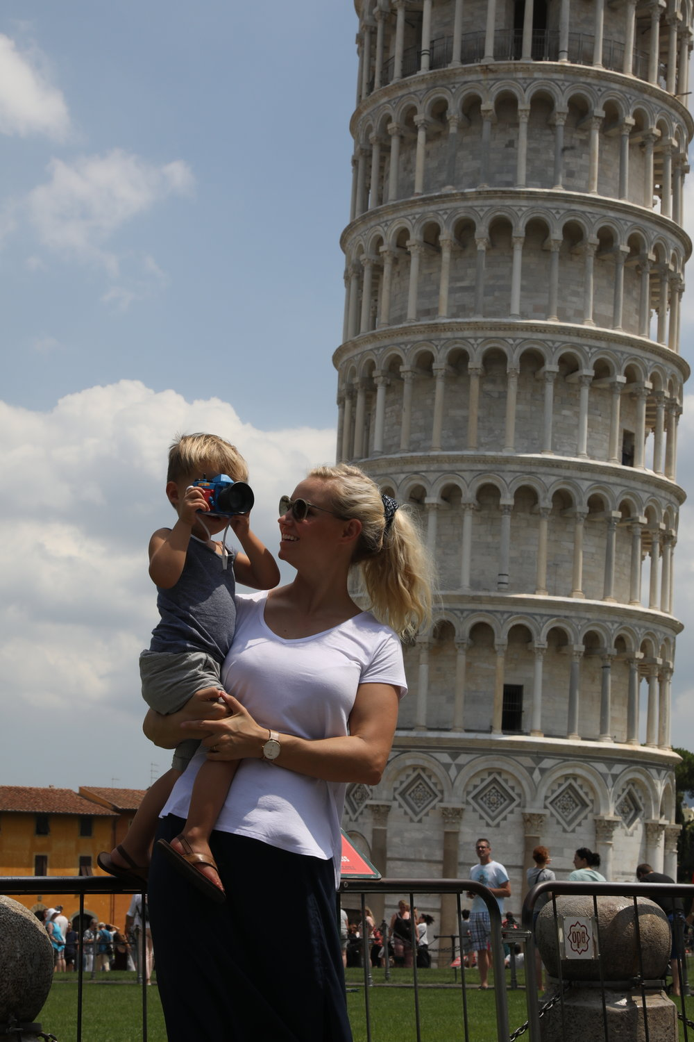 We checked Pisa off our bucket list this week.  Such a fascinating and cute little Italian town.