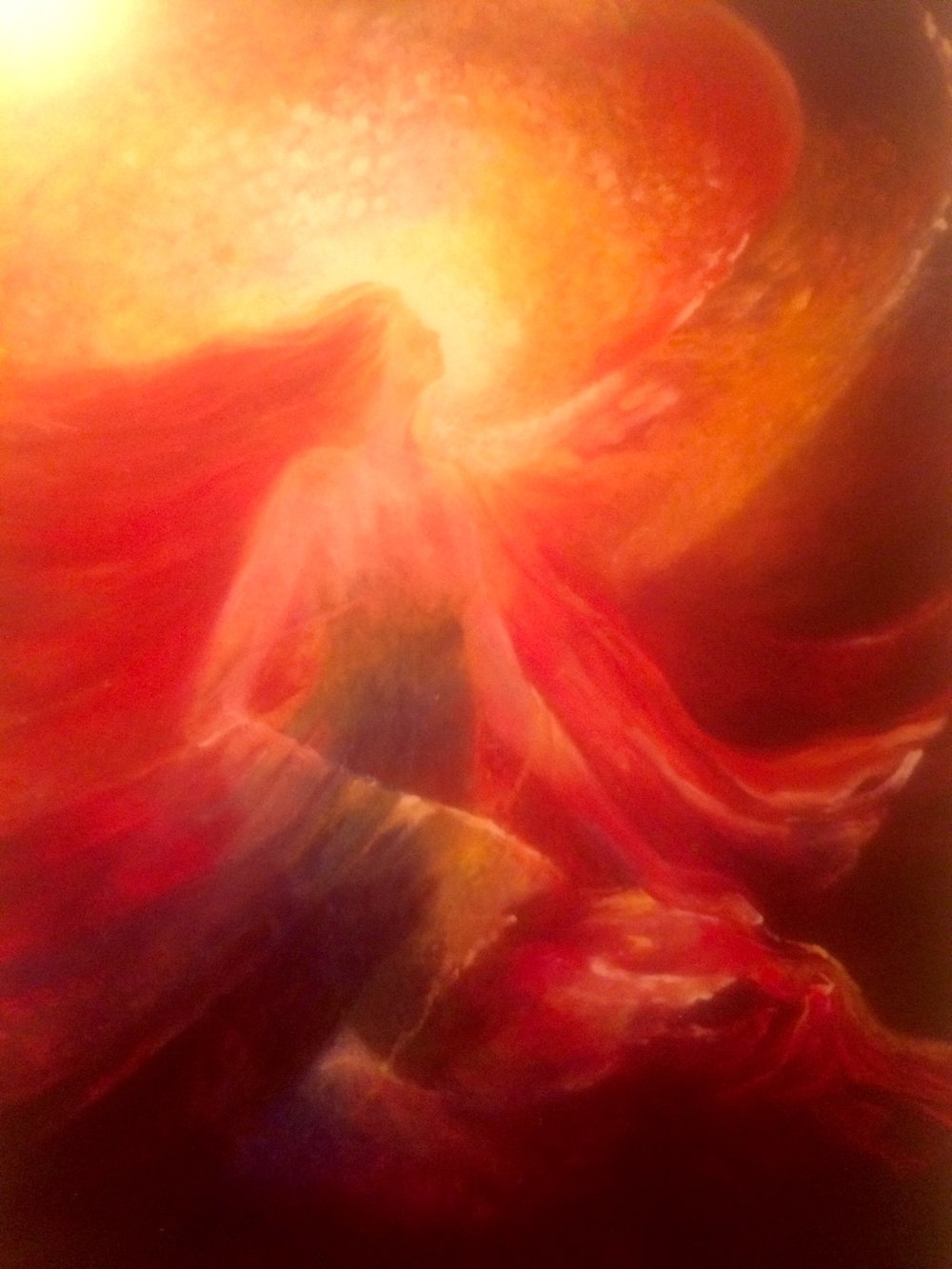 Artwork from Alana Fairchild's Rumi Oracle