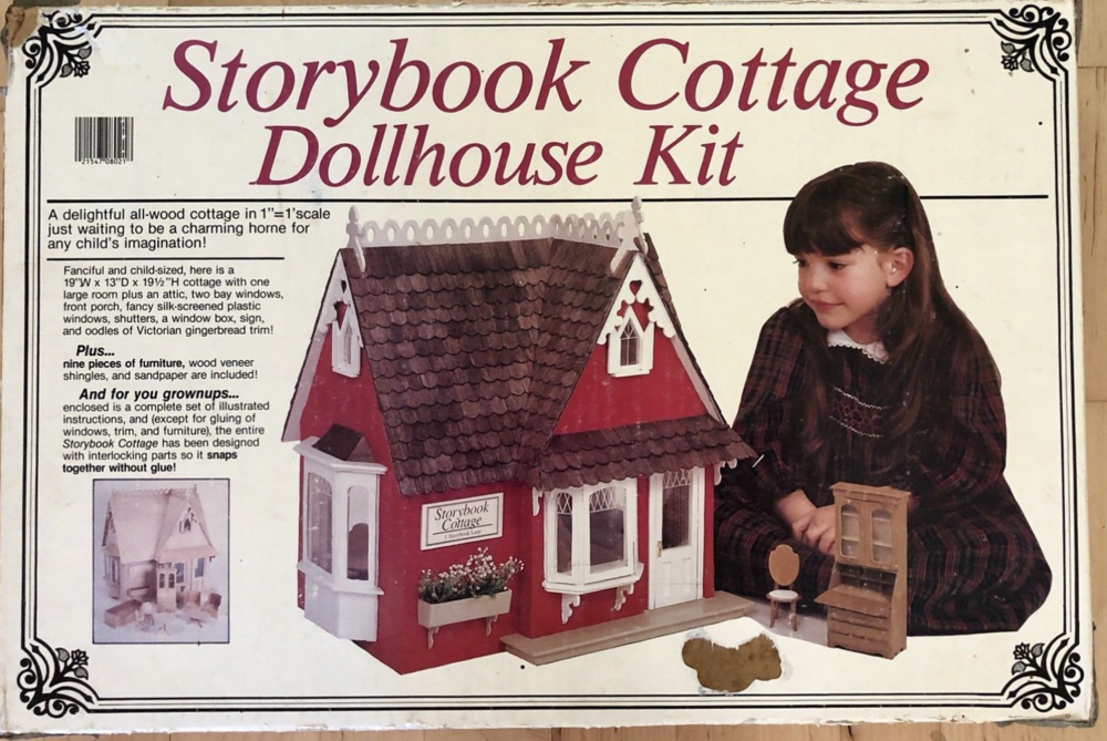 Storybook Cottage Dollhouse - Greenleaf Dollhouse