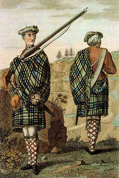The Highland Soldier of 1744 http://creativecommons.org/licenses/by-sa/3.0/