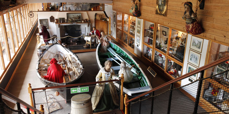 Mackay says it's important to select museums based on their collections and relevance to your ancestor. If they were fishermen, then a visit to the Eyemouth Maritime Center might be helpful. Photo courtesy VisitScotland.com
