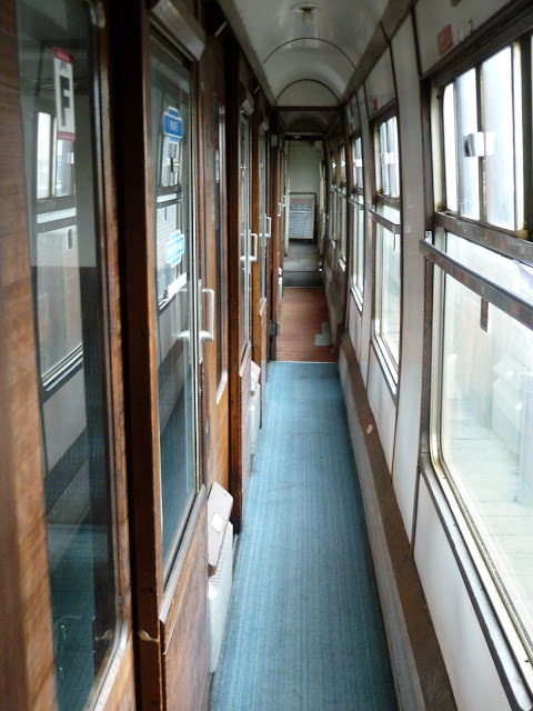 "...and the ""Harry Potter"" coach that offers 5 private compartments, each seating six. It's only in the past year that this coach was transformed to First Class requiring assigned seating."