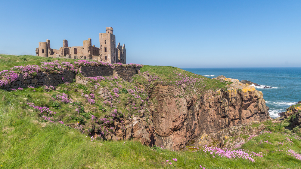 "Slains Castle is one of almost two dozen on the region's ""Castle Trail."""