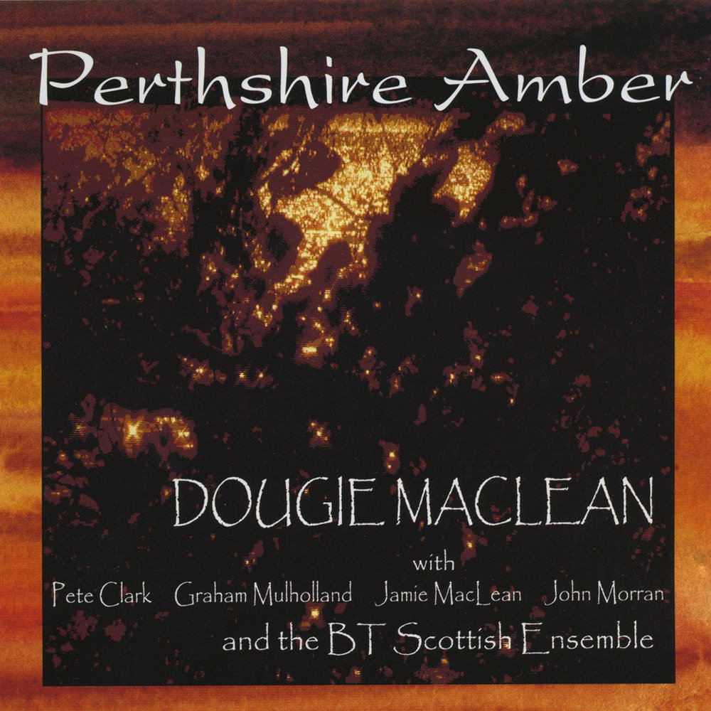 "Released in Summer 2015, Perthshire Amber is MacLean's most ambitious effort yet as a composer and features a 4-part instrumental suite of the same name. Below The Parish of Dunkeld Handbell Ringers at The Perthshire Amber Festival ringing Dougie MacLean's famous song ""Caledonia"", arranged for handbells by Elaine Duffus. The camera focuses throughout on one ringer - Dougie's mother, who joined the Dunkeld handbell group two years after they first performed at Dougie's Amber Festival."