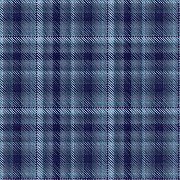 The Loch Ness Water tartan features varied shades of blue to represent the colors of the loch with the purple (the color of the Scottish thistle) running through it to reflect the color of the company's original logo.