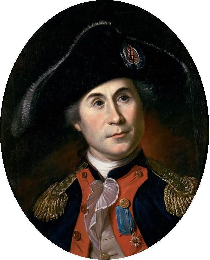 """John Paul Jones, famous for his response in battle, """"I have not yet begun to flight!"""" is considered the father of the United States Navy and hailed from Arbigland,Kirkcudbrightshire, in Scotland is but one of many, many famous Scottish Americans."""