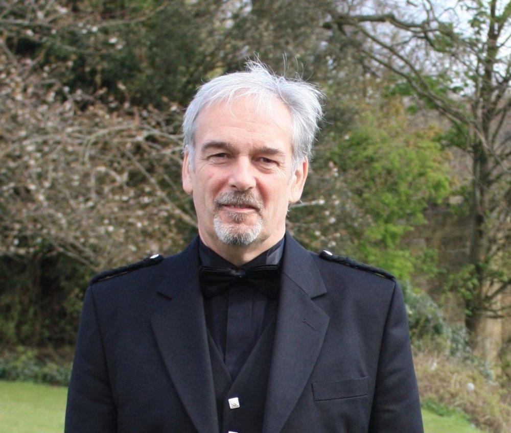 Author Iain Lundy, a career Scottish journalist.