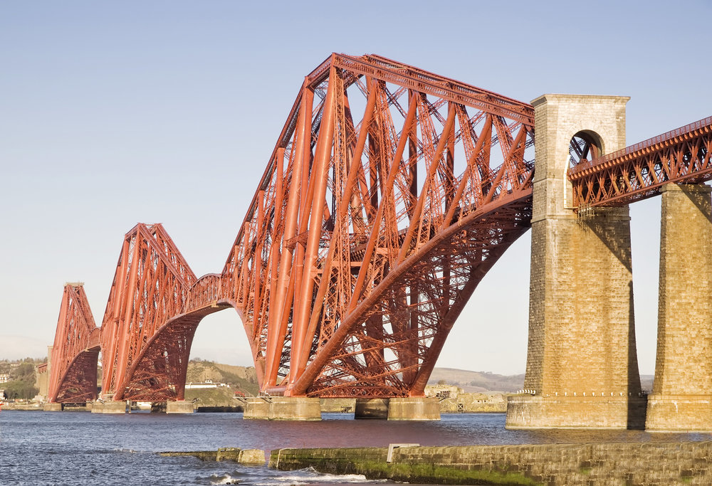 The Forth Rail Bridge is one of six UNESCO World Heritage sites in Scotland to be celebrated on World Heritage Day, 18 April. #ScotlandinSix