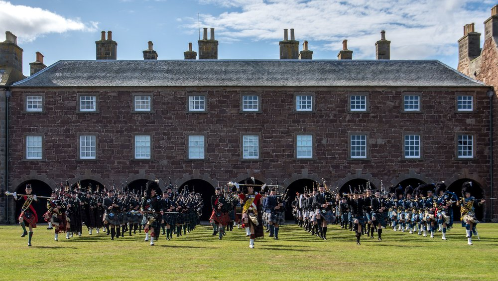 Throughout the year there will be many, many special events, some annual affairs, others one-offs that will allow Scots and tourists alike to see and appreciate various facets of Scotland's history and heritage. The Highland Military Tattoo at Fort George is one example, happening 8-10 September.
