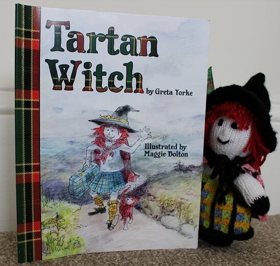 """The Tartan Witch"", a children's book written in English and Scots by Greta Yorke, illustrated by Maggie Bolton"