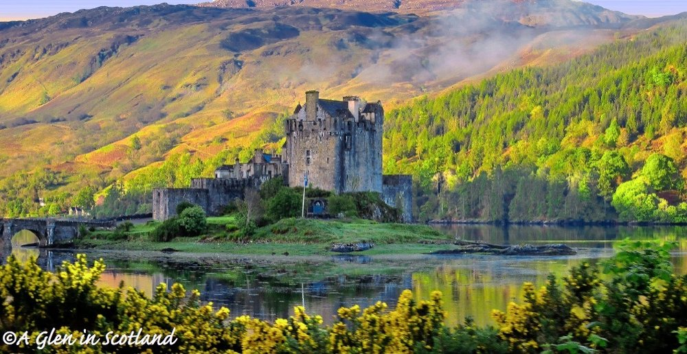 "Eilean Donan is considered Scotland's ""most photographed"" castle. Photo by the author"