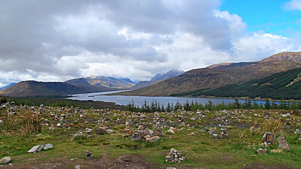 Cairn field / Loch Loyne