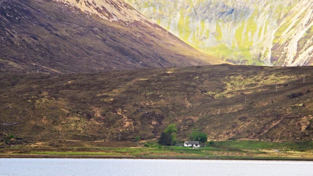 Across Loch Ainort. Skye