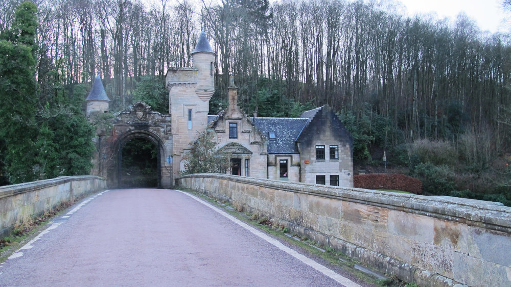 West Lodge near Carluke, Lanarkshire