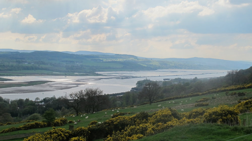 The Clyde from Kilpatrick Hills