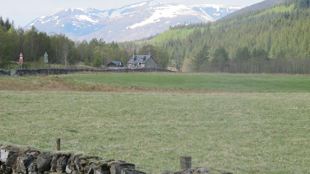 A86 near Laggan