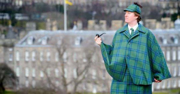 UTTS #052 A Case of Identity: The Sherlock Holmes Tartan