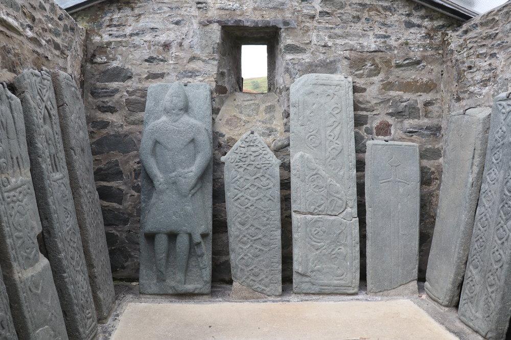 Medievel Gravestones, Kilmartin Glen