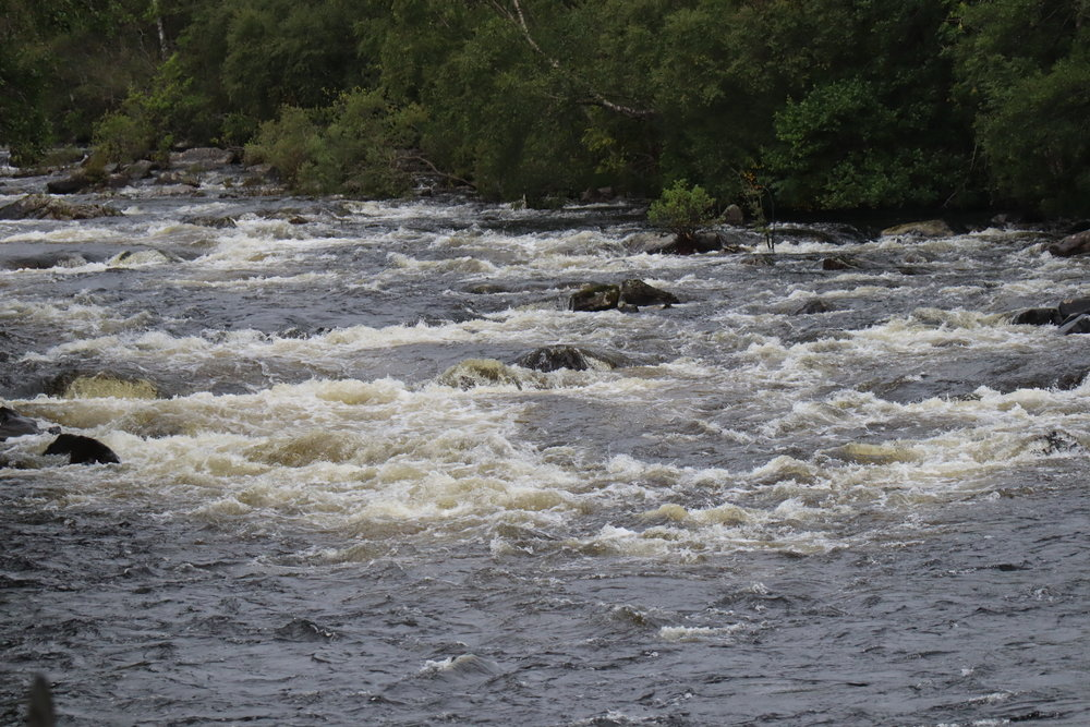 River Tummel at Tummel Bridge