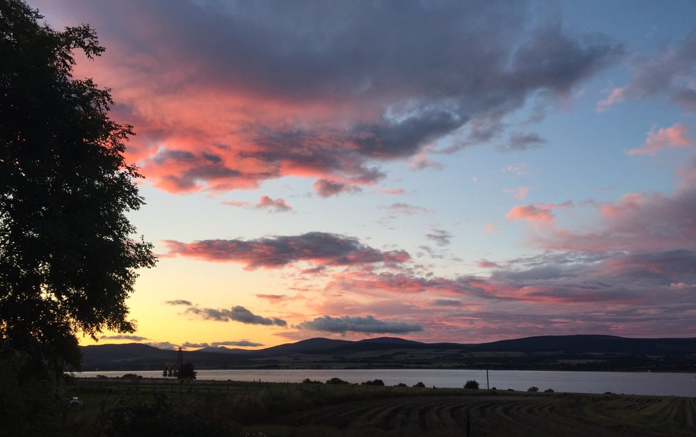 Sunset, Balblair, the Black Isle