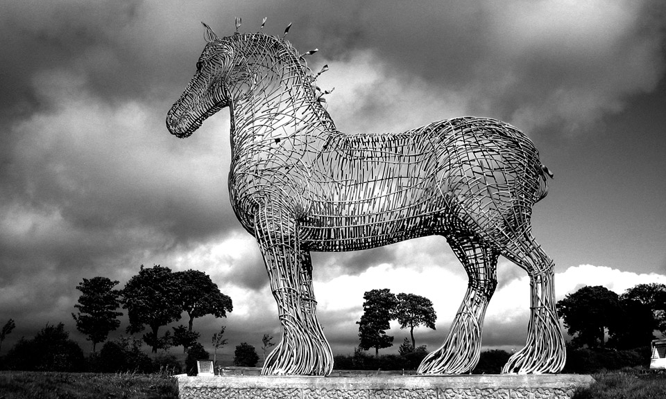 The Heavy Horse. Photo courtesy    www.andyscottsculptor.com