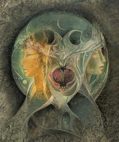Persephone and Demeter by Susan Seddon Boulet