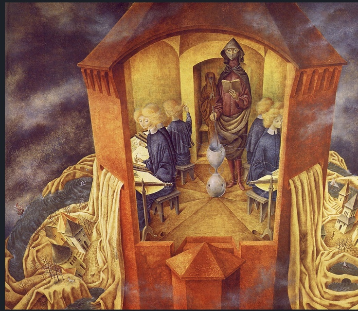 Embroidering the Earth's Mantle Remedios Varo