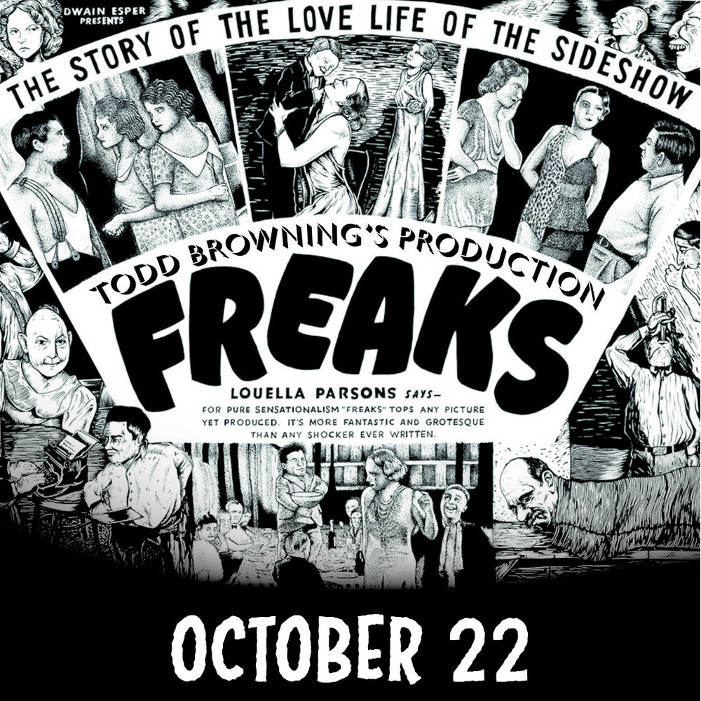 abilene community theatre todd browing freaks october 2016