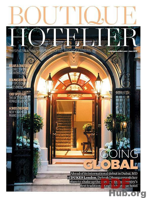 HOTELIER MAGAZINE  | Media Kit +  Editorial Calendar