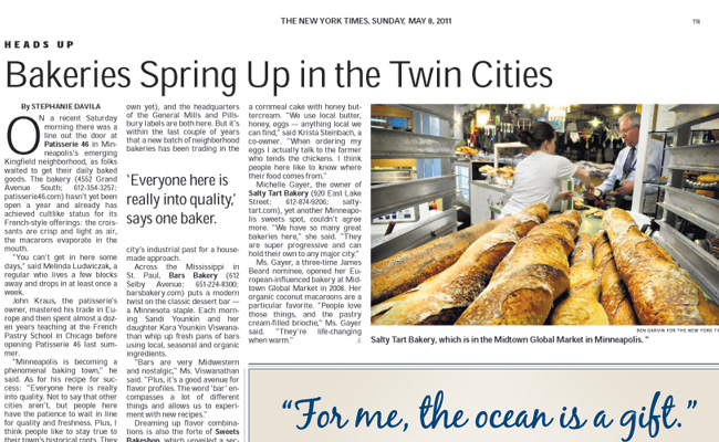 NEW YORK TIMES / TRAVEL  Section
