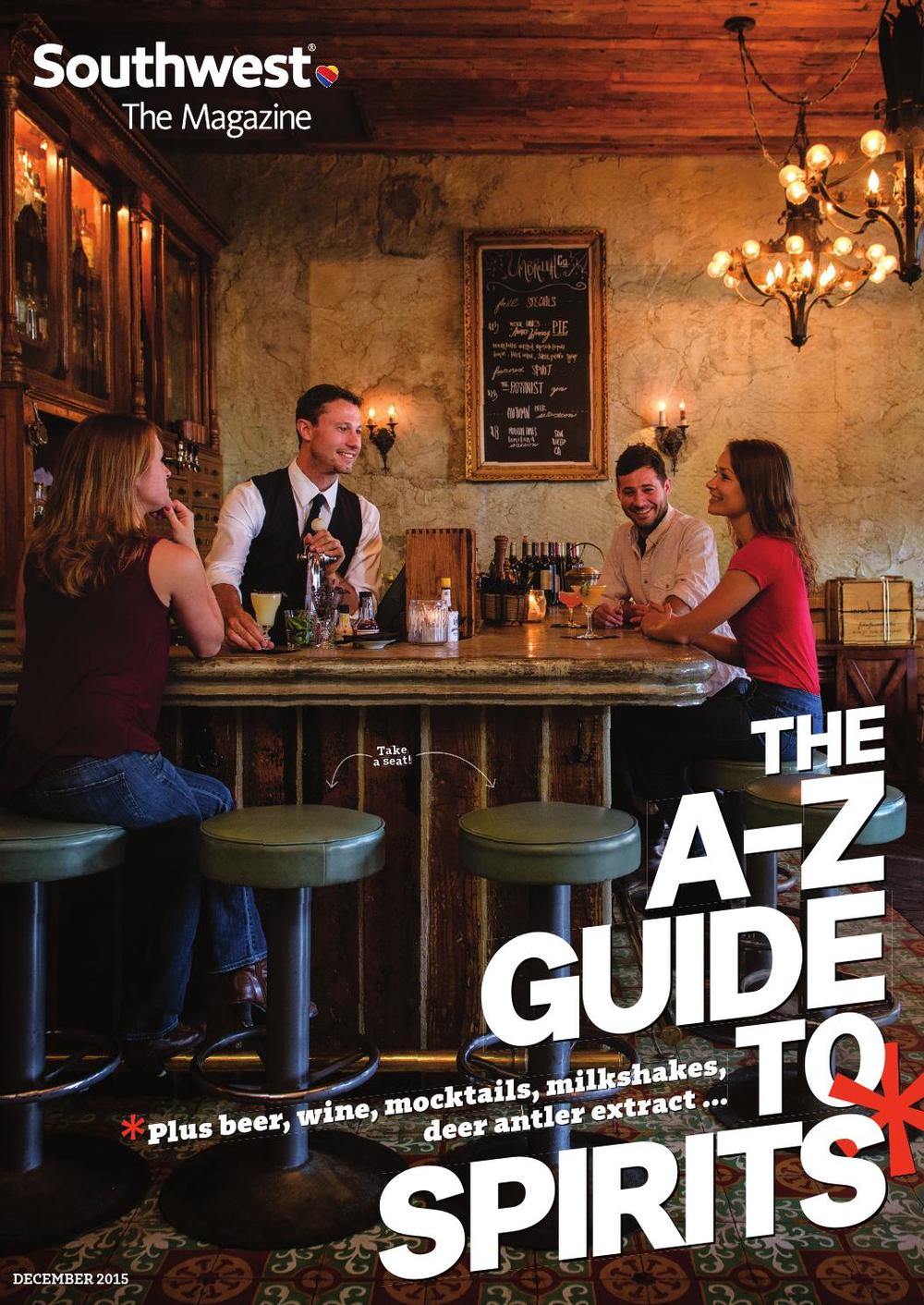 SOUTHWEST: THE MAGAZINE  |  Media Kit  + Editorial Calendar