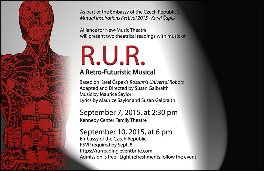 R U R  : A Retro-Futuristic Musical — DC Embassy Events