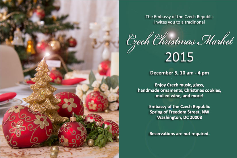 czech christmas market on december 5 2015 from 10 am 4 pm dc embassy events - Christmas Market Dc