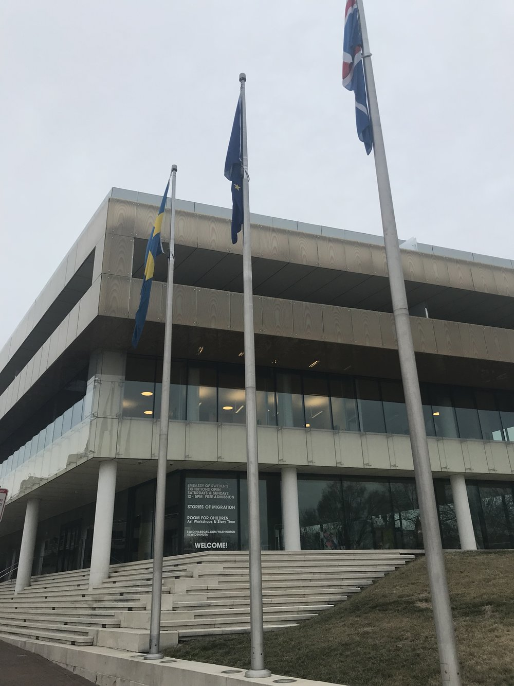 The Embassies of Sweden & Iceland at the House of Sweden.